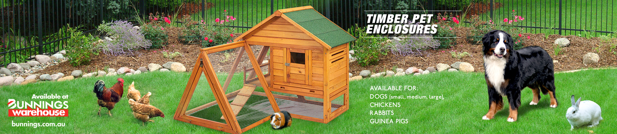 Timber Pet Enclosures